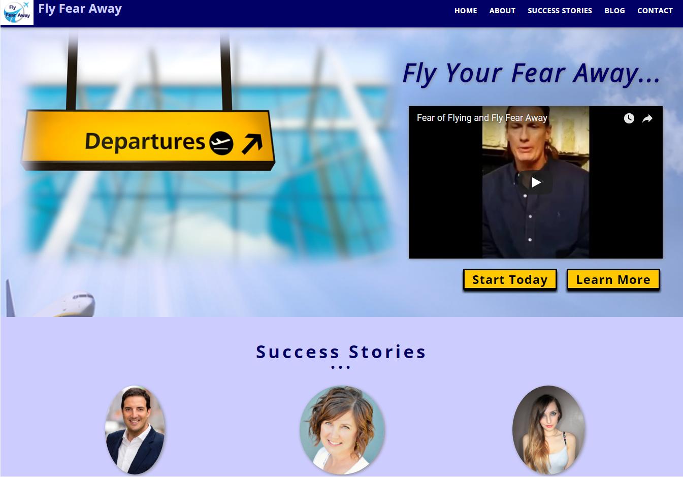 Fly Fear Away Site
