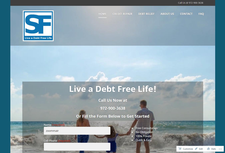 Shahbaz Financial WordPress
