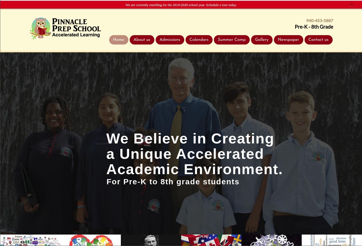 Pinnacle Prep School WordPress