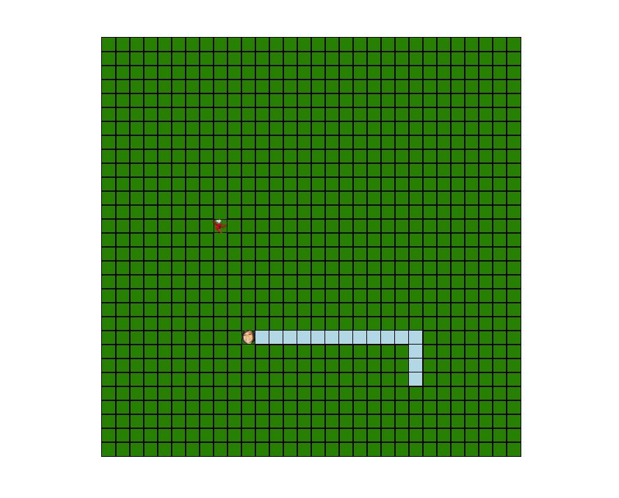 Snake Game in ReactJS